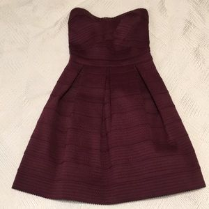 Maroon Express Holiday Dress